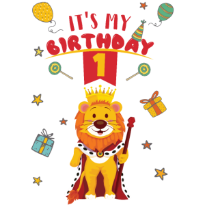 1. Geburtstag Löwe Geschenk