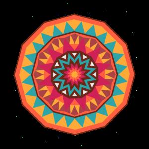 Azteka- Mandala der Sonne 2