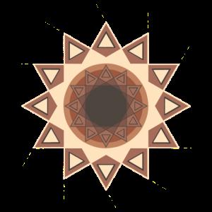 Leuchtendes Auge 2