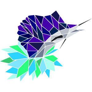 Geometrischer Segelfisch