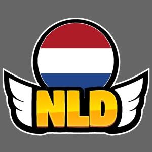 00064 Netherlands alas escudo insignia
