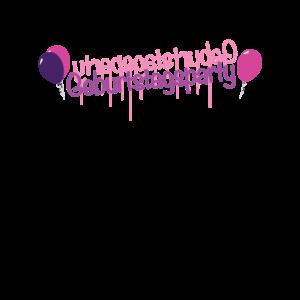 Geburtstagsparty Mädchen Geburtstag Mädchenhaft