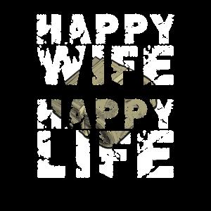 Happy Wife Happy Life Vintage Dollar