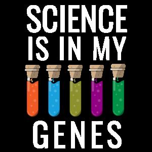 Wissenschaft ist in meinen Genen