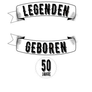 50. Geburtstag Legende seit 1970 50 Jahre Geschenk
