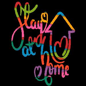 zu Hause bleiben