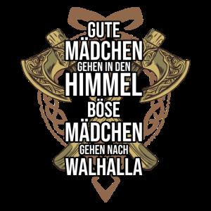 Wikinger Wikingerin Frau Walhalla