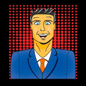 Mann Portrait 1 Hintergrund