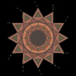 Symmetrisches Auge