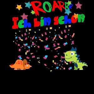 Dritter Geburtstag cooler Dino Geschenkidee Jungs