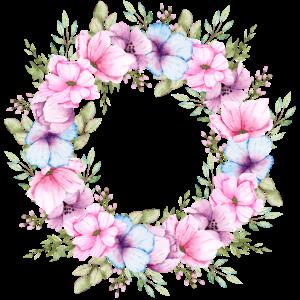 Blumenkranz Blütenkranz Blüten Hochzeit Muttertag