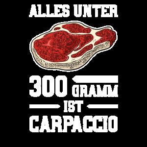 Alles Unter 300 Gramm Ist Carpaccio