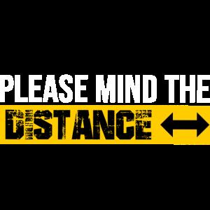 Bitte Abstand halten