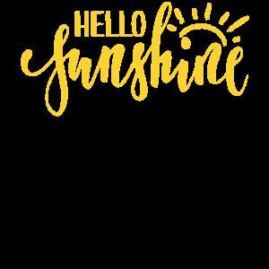 hallo Sonnenschein
