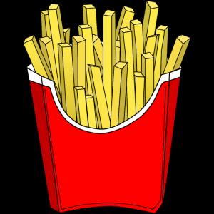 Pommes Fritten fries