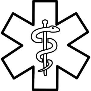 Star of Life Arzt Symbol Schlange Stab