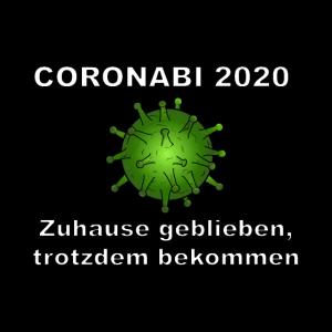Coronabi Abi Spruch 2020 Corona Virus Abschluss