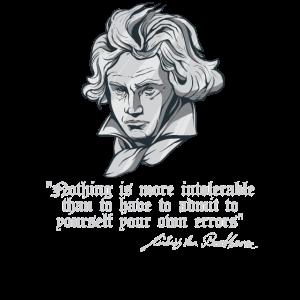 Ludwig Van Beethoven Zitat Klassischer Komponist