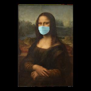 Mona Lisa Munschutz Corona Virus 2020
