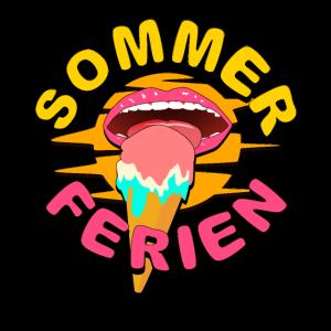 Sommerferien Eiscreme