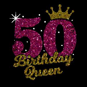 50 Birthday Queen 50. Geburtstag Jahrgang 1970