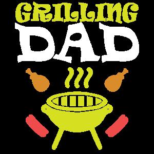 Papa grillen