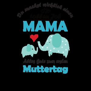 Stolze Mama Baby Erster Muttertag Mami Geschenk