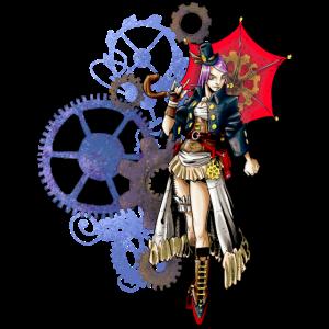 Steampunk Frau