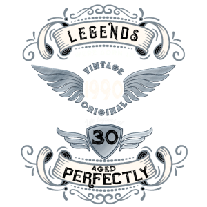 30 Geburtstag Geboren 1990 Aged Perfectly Geschenk