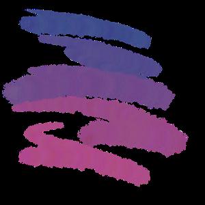 Basic streifen blau pink