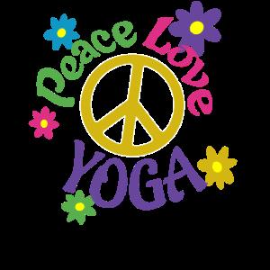 Friedensliebe Yoga verzweifelt