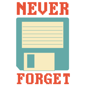 Never forget diskette