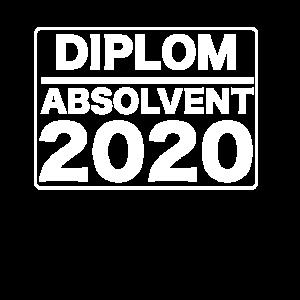 Diplom Absolvent 2020
