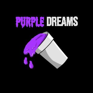 Codeine Rap Lean Hustensaft Purple Drank