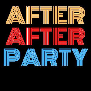 nach nach der Party