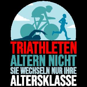 Triathlet Triathlon Geschenk