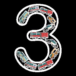 3 Jahre Alter Auto Autos Kindergeburtstag Junge