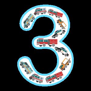 Kinder Kindergeburtstag 3 Jahre Fahrzeuge Autos