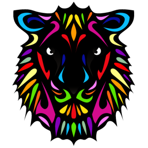 Löwe Löwin Design Farbe 5042 o