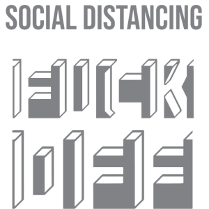Soziale Distanz Isolation Quarantäne #stayhome