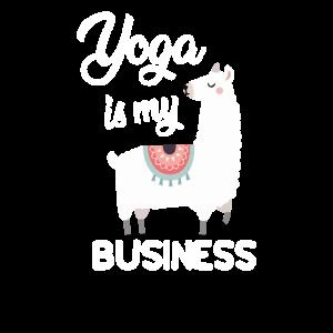 Yoga ist mein Geschäft