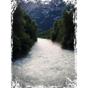 Früh am Morgen am Fluss