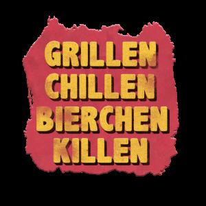 GRILLEN CHILLEN BIERCHEN KILLEN 1
