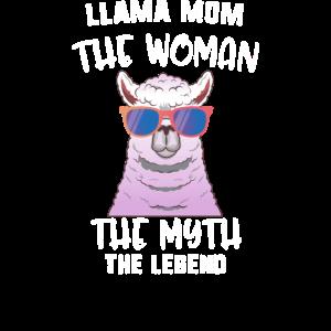 Lama Mom Die Frau Der Mythos Die Legende Lama