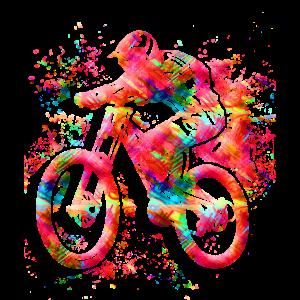 Cooles Mountainbike - Fahrrad - MTB - Extremsport