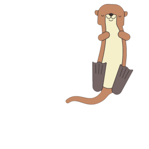 There is no otter like you Partner Geschenk Liebe