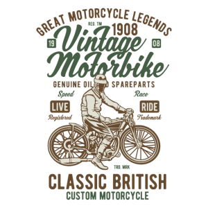 VINTAGE MOTORBIKE CLASSIC BRITISH MOTORCYCLE