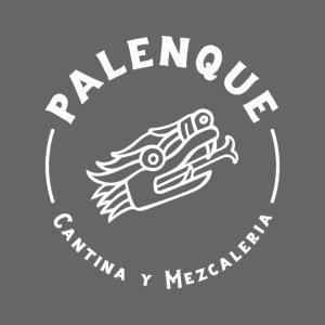 Palenque Logo Snake Head Blanc