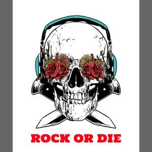 Cool Skull Rock or Die