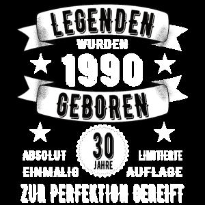 30. Geburtstag Legende seit 1990 30 Jahre Geschenk